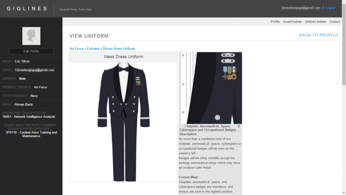 Get Information About Your Uniform In Real time